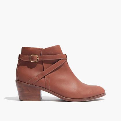 Madewell et Sézane® Ankle-Wrap Boots