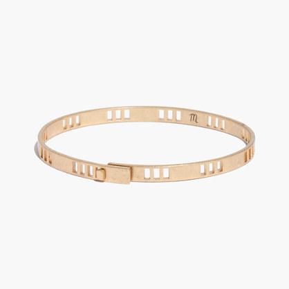 Squarecut Bangle Bracelet