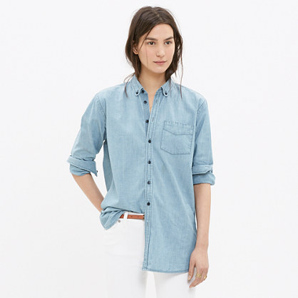 Oversized Chambray Boyshirt