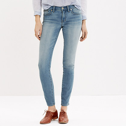 "Tall 8"" Skinny Jeans in Lydon Wash"
