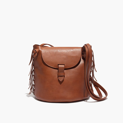 The Fringe Bucket Bag