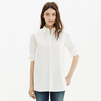 Oversized Side-Button Shirt