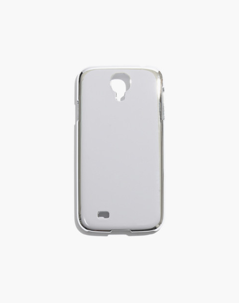 Metallic Case for Samsung Galaxy 4 in silver image 1