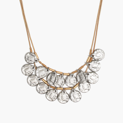 Coinseal Statement Necklace