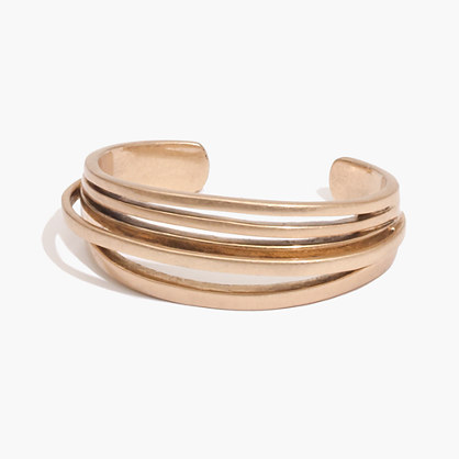 Multi-Ray Cuff Bracelet