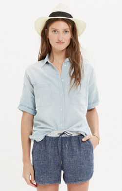 Chambray Courier Shirt