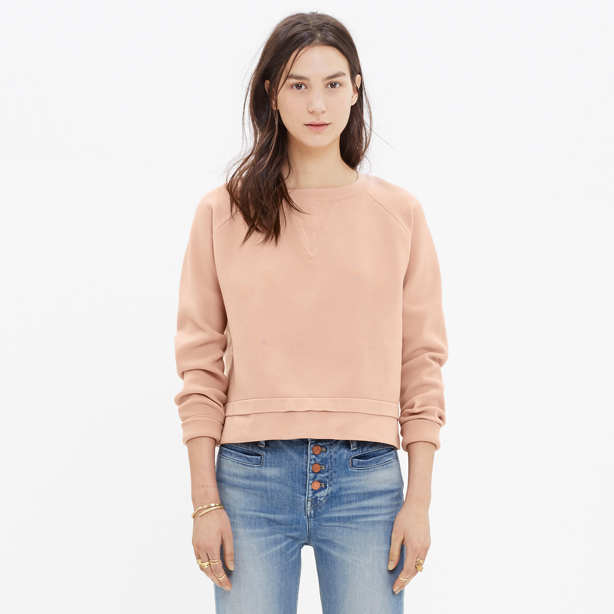 Soft-Tech Pullover Sweater : pullovers | Madewell