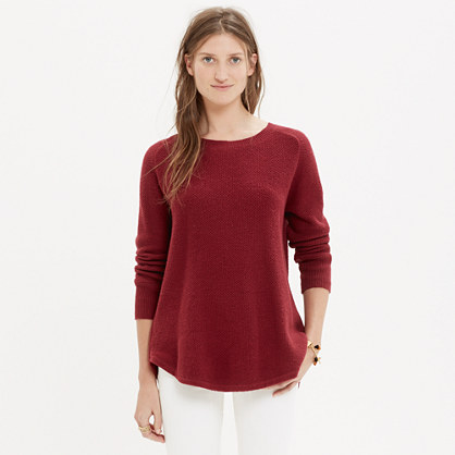 Button-Back Sweater