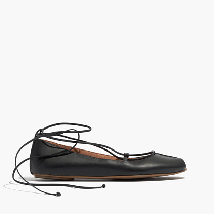 The Nora Lace-Up Flat