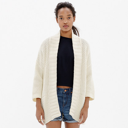 Sale alerts for Madewell Kimono Cardigan Sweater - Covvet