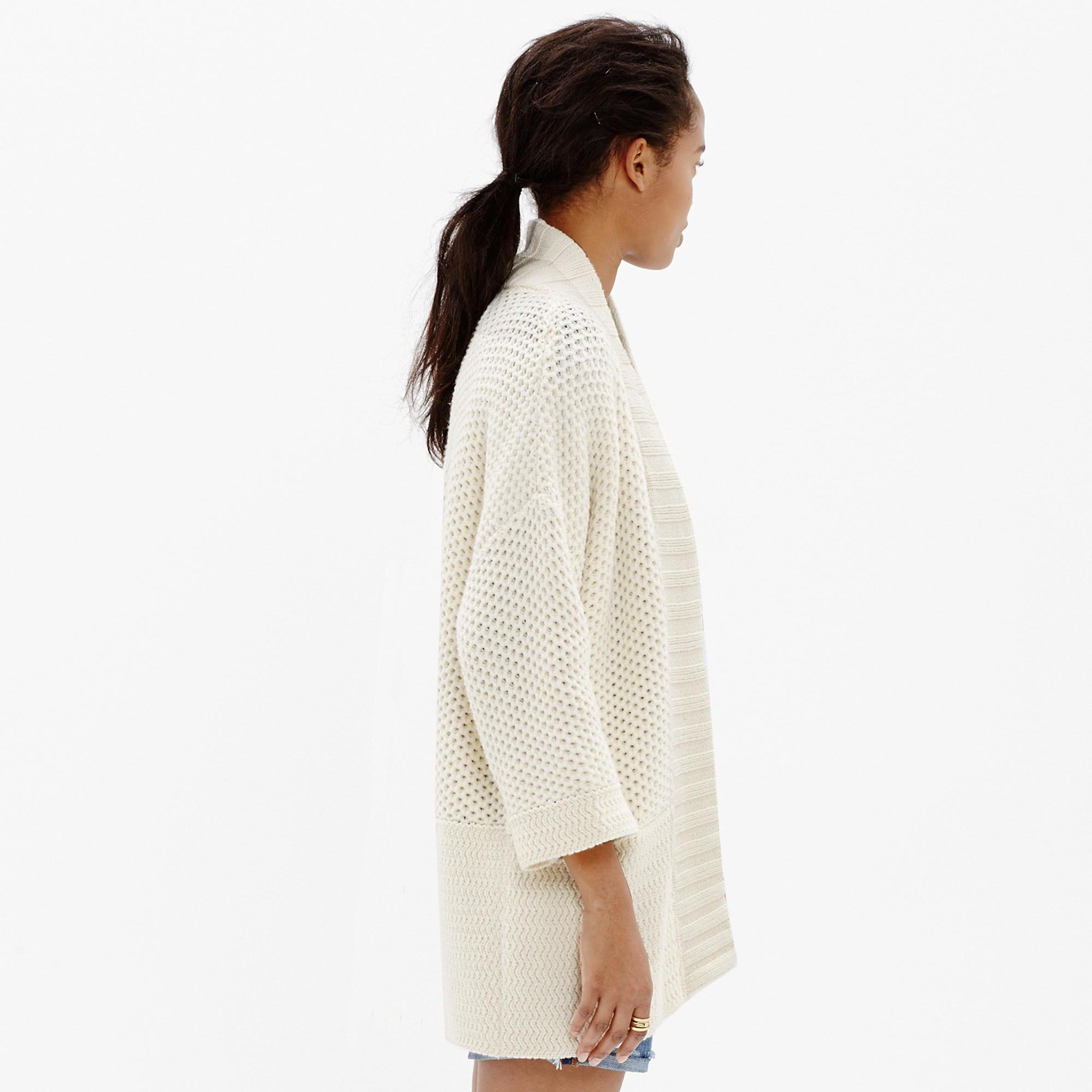 Kimono Cardigan Sweater : cardigans & sweater-jackets | Madewell