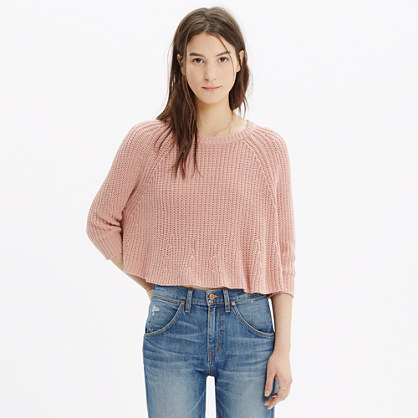 Swing Crop Sweater