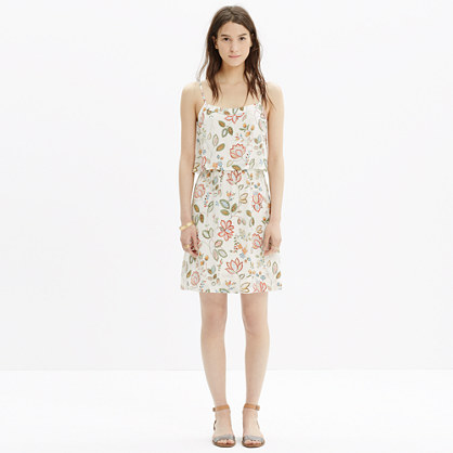Madewell | Printed Silk Cami Dress | HauteLook