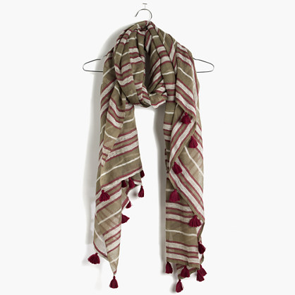Military Stripe Scarf