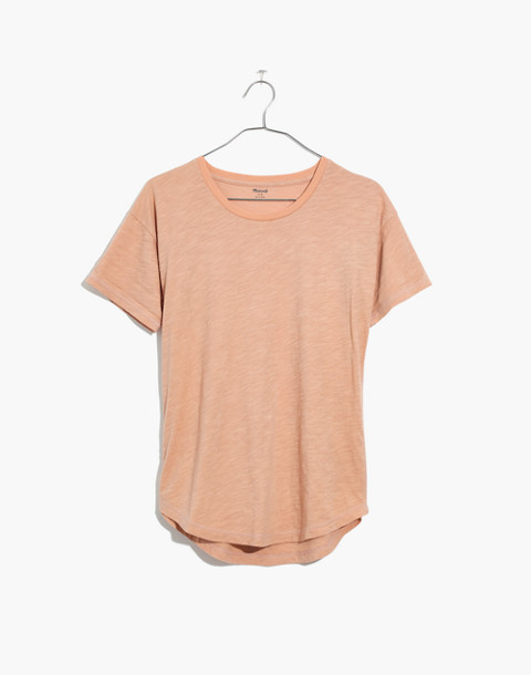 Whisper Cotton Crewneck Tee