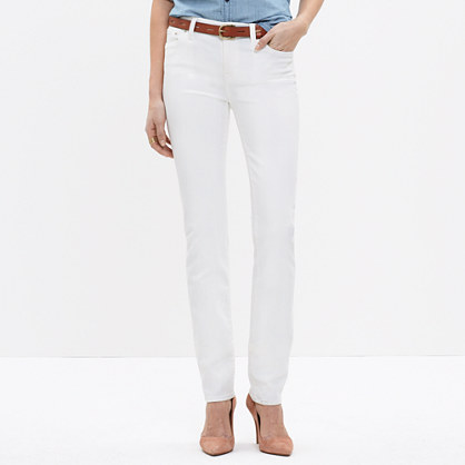 Alley Straight Jeans in Pure White : alley straight jeans | Madewell