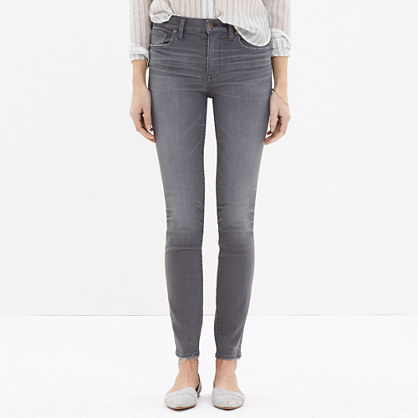 High Riser Skinny Skinny Jeans in Dusty Wash