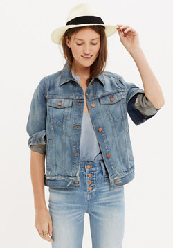 The Jean Jacket in Ellery Wash