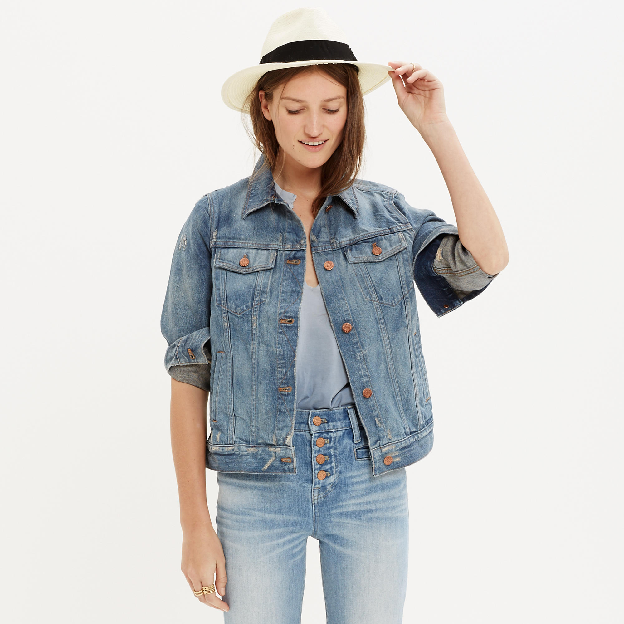 The Jean Jacket in Ellery Wash : overalls & more denim | Madewell