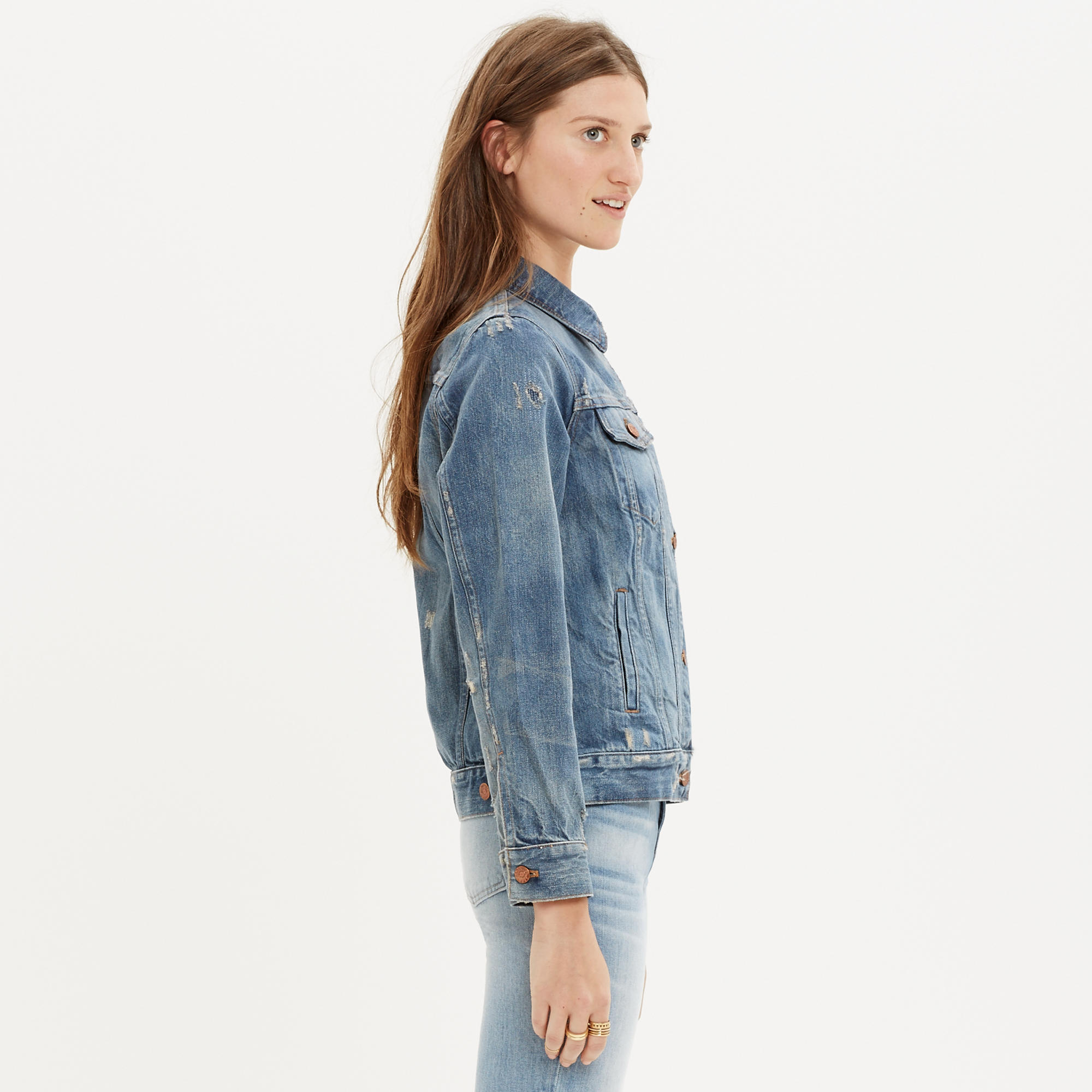 The Jean Jacket in Ellery Wash : more denim dressing | Madewell