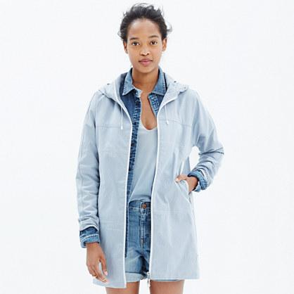 Penfield® Inuvik Parka Jacket in Seersucker