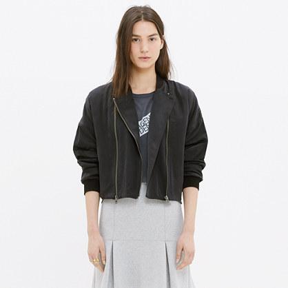 Biker Bomber Jacket : jackets | Madewell