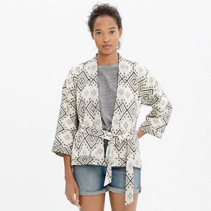 Kimono Jacket in Arrowhead