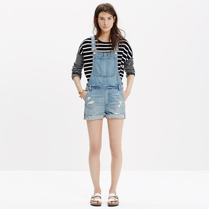 Sale alerts for Madewell Adirondack Short Overalls - Covvet