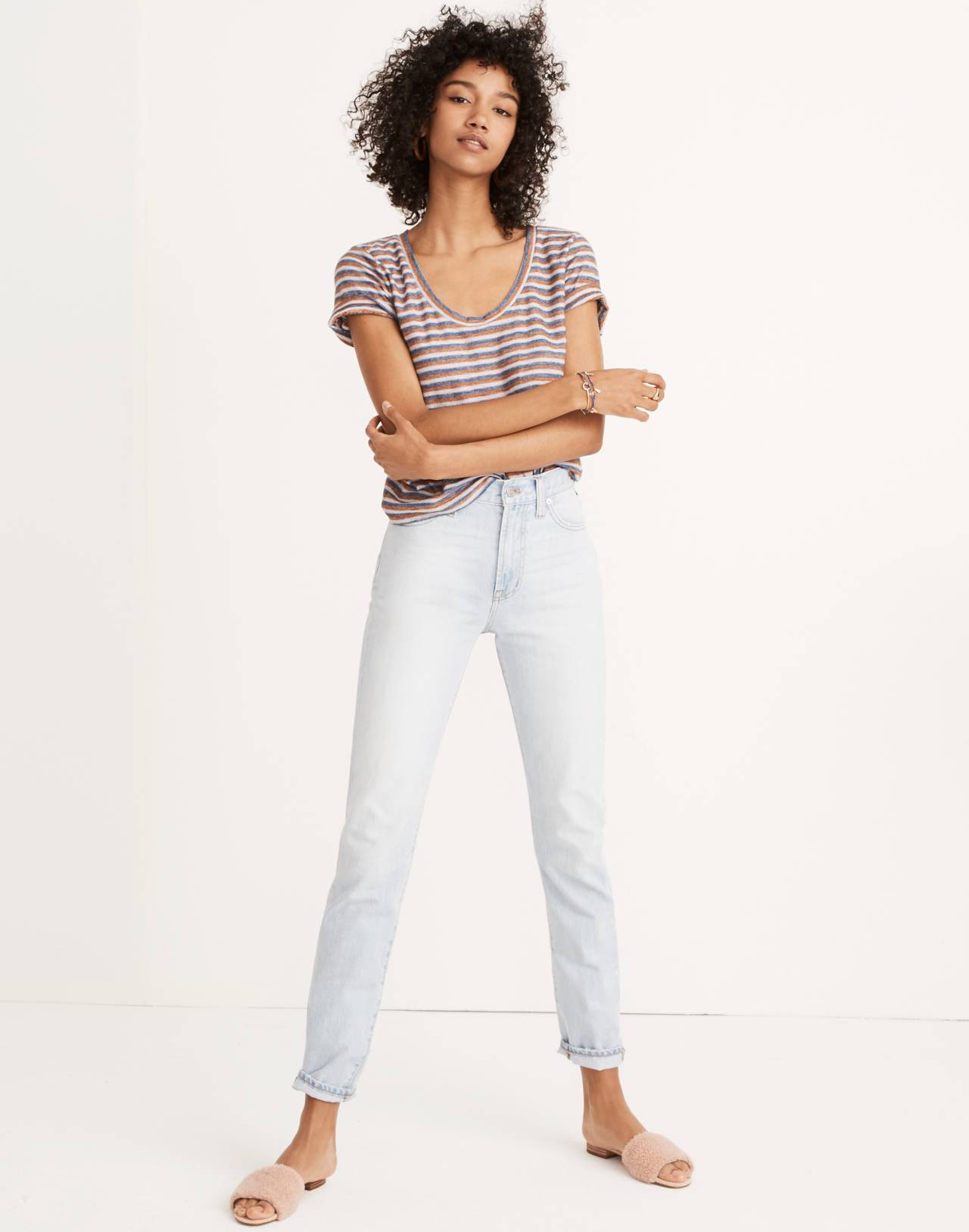 The Perfect Vintage Jean in Fitzgerald Wash in fitzgerald wash image 1