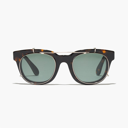clip on frame sunglasses