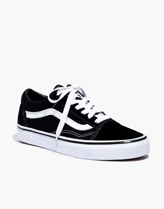 Vans® Unisex Old Skool Lace-Up Sneakers in true black image 3