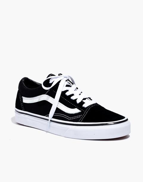 Vans® Unisex Old Skool Lace-Up Sneakers in true black image 3