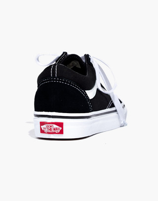Vans® Unisex Old Skool Lace-Up Sneakers in true black image 4