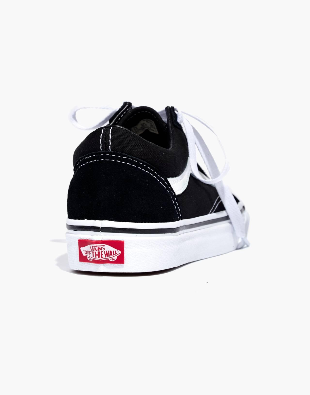 Vans® Unisex Old Skool Lace-Up Sneakers in true black image 4