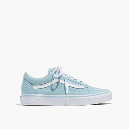 Vans® Unisex Old Skool Lace-Up Sneakers in Crystal Blue