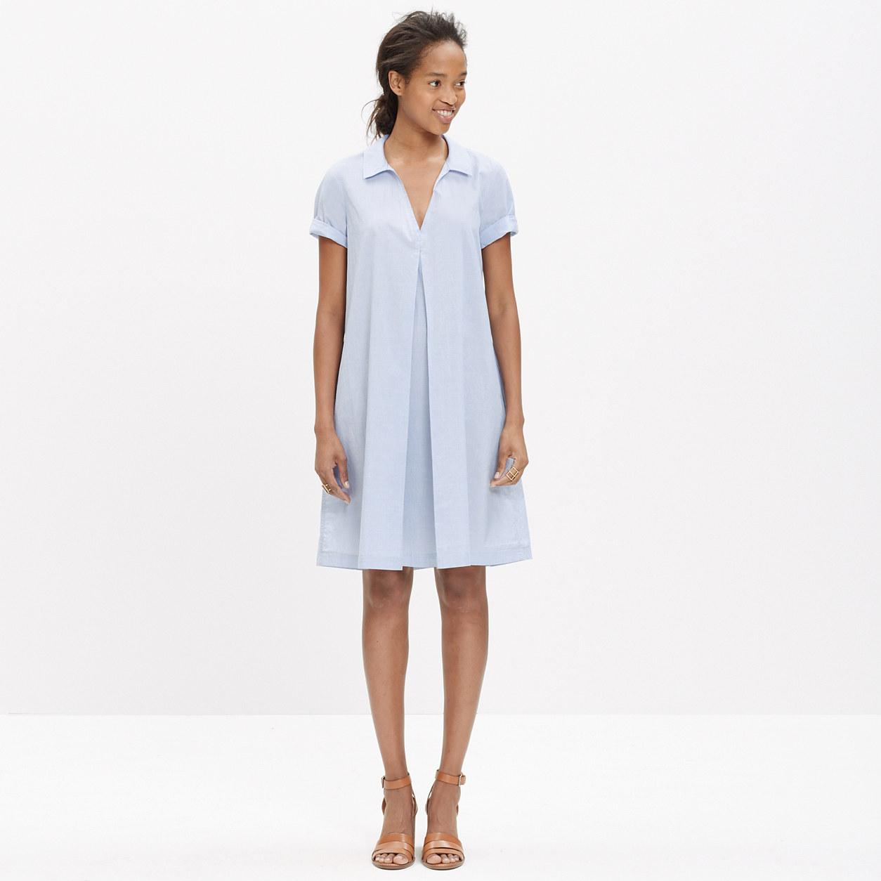 Swingout Shirtdress : casual dresses - Madewell