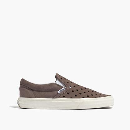 Madewell & Vans® Holepunch Slip-On Sneakers