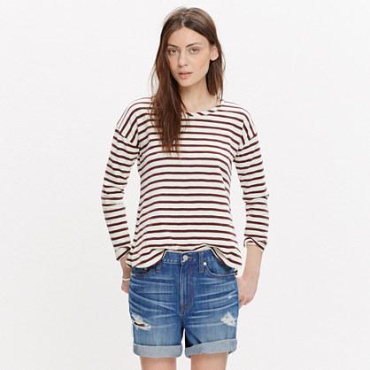 Setlist Pullover Top in Stripe