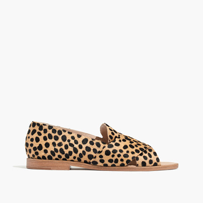 Loeffler Randall® Hanelle Open Loafer in Cheetah Print