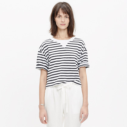 Sun-Up Tee in Stripe