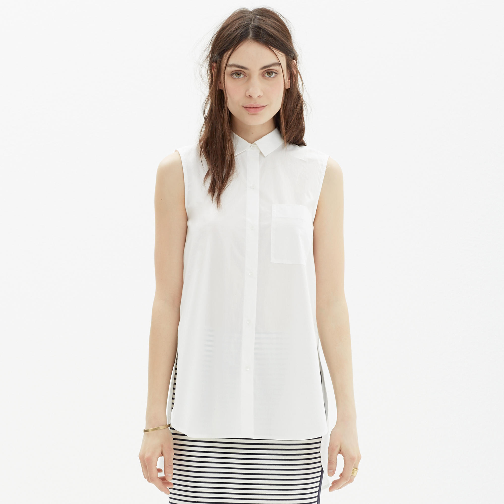 dot enlarged clothing women c top draped tops realreal l sleeveless the drapes a products