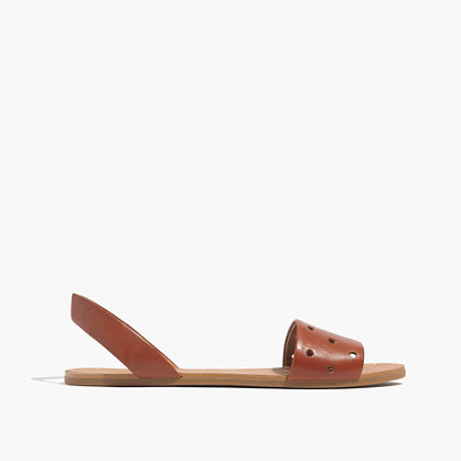 The Abbi Slingback Sandal in Holepunch