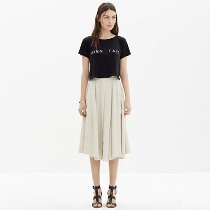 Button-Front Midi Skirt : midi & maxi | Madewell