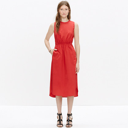 Cotton Lakeshore Midi Dress