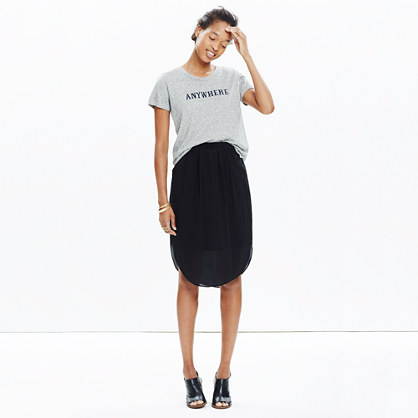 Silk Island Skirt