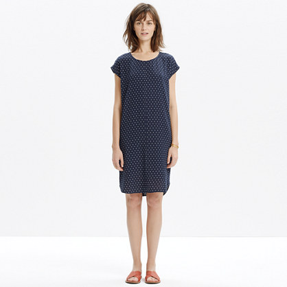 Layout Tunic Dress in Dot : casual dresses | Madewell