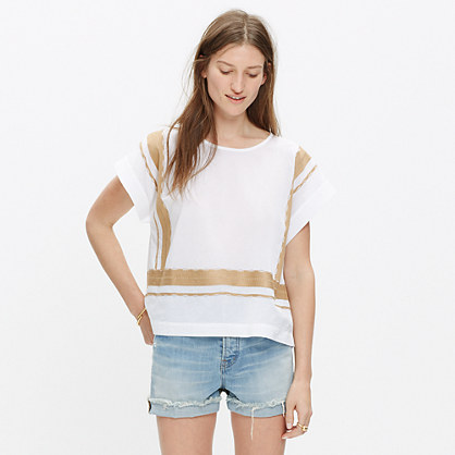 Embroidered Outpost Top