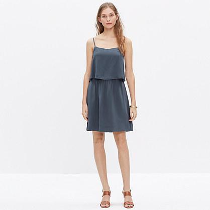 Silk Overlay Cami Mini Dress