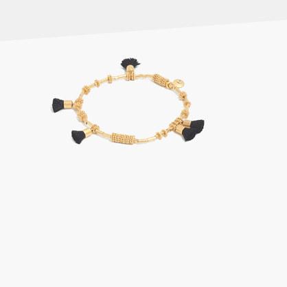 Raffia Tassel Bracelet