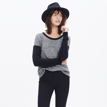 Chronicle Texture Pullover Sweater in Colorblock